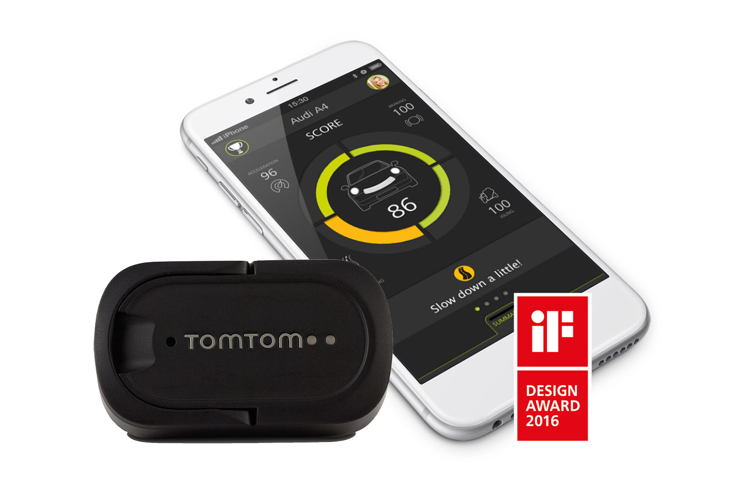 IFA, Berlin, Germany, 1 September 2016 TomTom today announces the consumer  launch of its TomTom CURFER performance tracker for cars.