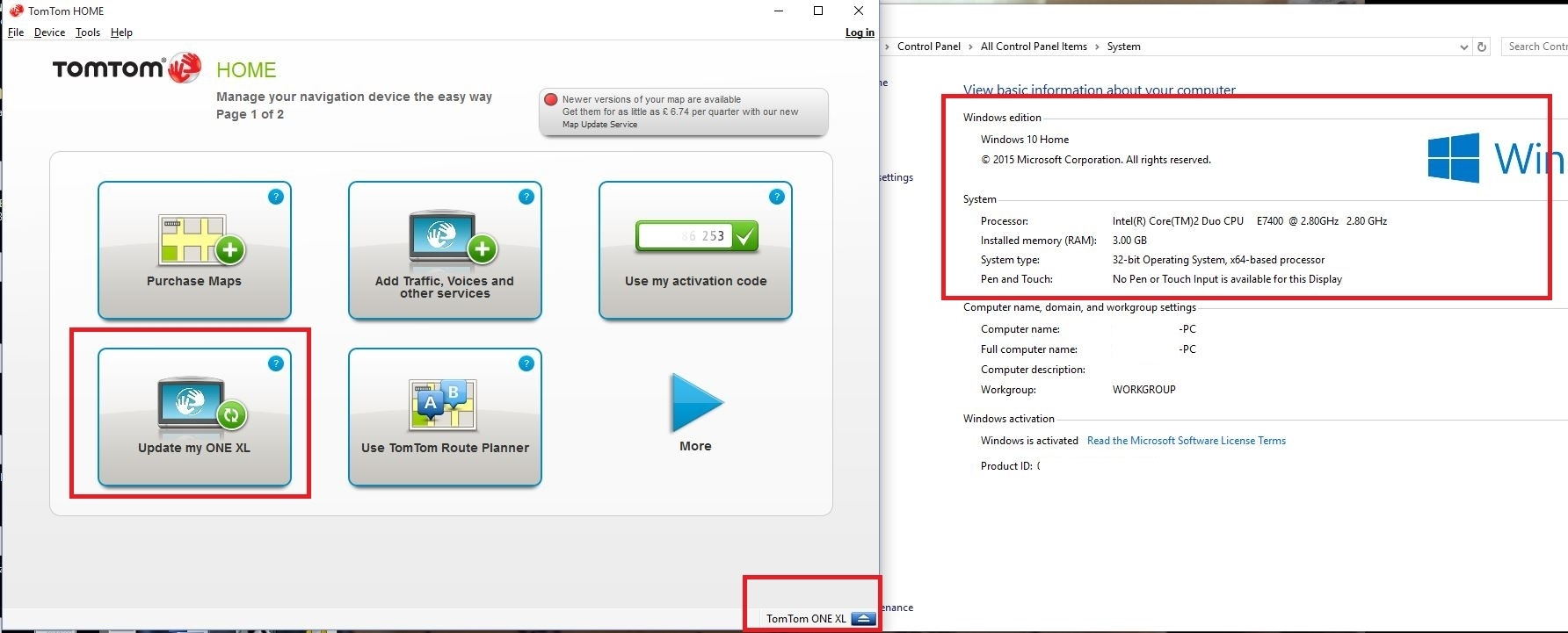GO Live 1005- Can\u0027t connect to Windows 10 | TomTom Forum and Community