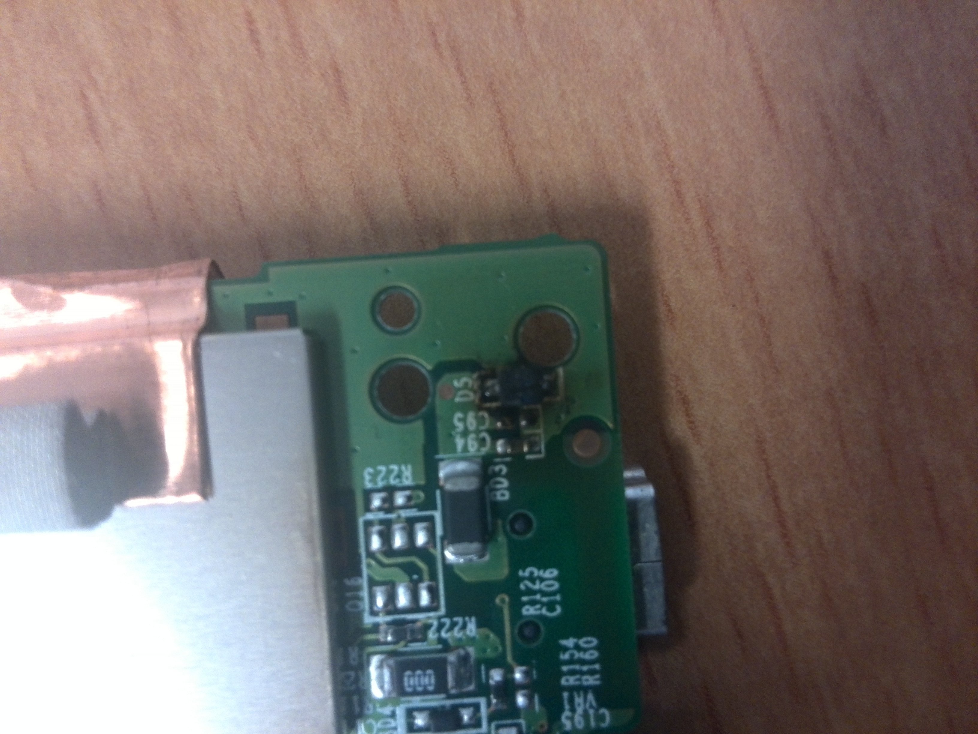 diode d5 tomtom one xl burnt   tomtom forum and community 1 attachment