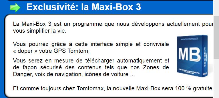 2 TÉLÉCHARGER BOX TOMTOMAX MAXI