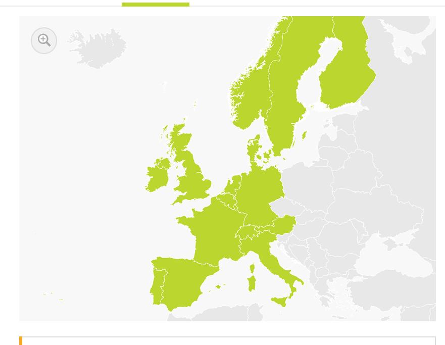 carte europe zone sud tomtom