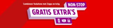 Combineer Vodafone met Ziggo en krijg non-stop gratis extra's