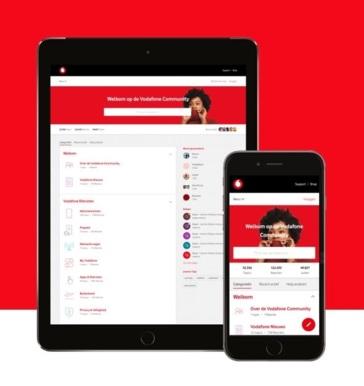 De vernieuwde Vodafone Community!
